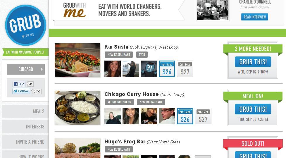 gastronomía en las redes sociales