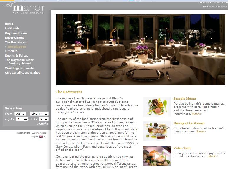 cómo hacer una página web restaurante