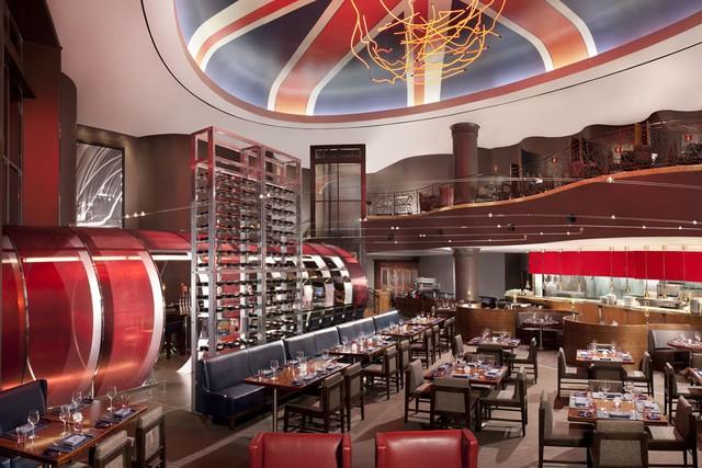 Dise o de restaurantes conoces el nuevo restaurante de for Diseno bar pequeno