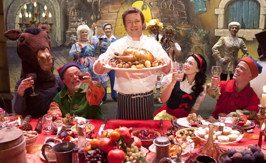 Recetas de navidad Jamie Oliver