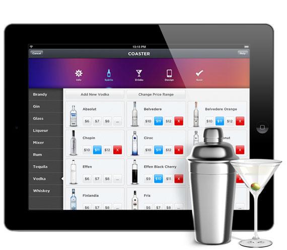 Aplicación para pedir bebidas