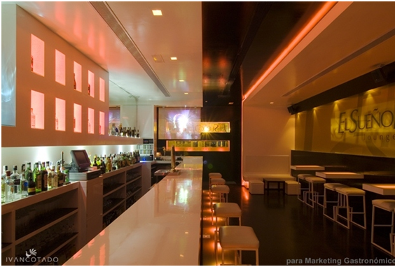 Proyecto: El Sueño Húmedo Lounge & Bar de Ivan Cotado Diseño de Interiores