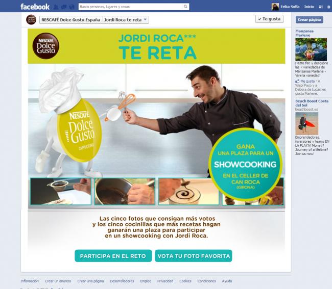 Anuncios Facebook Nescafé