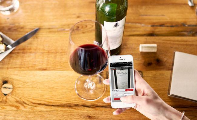 Aplicaciones para restaurantes ¿Conoces el Shazam de los vinos?