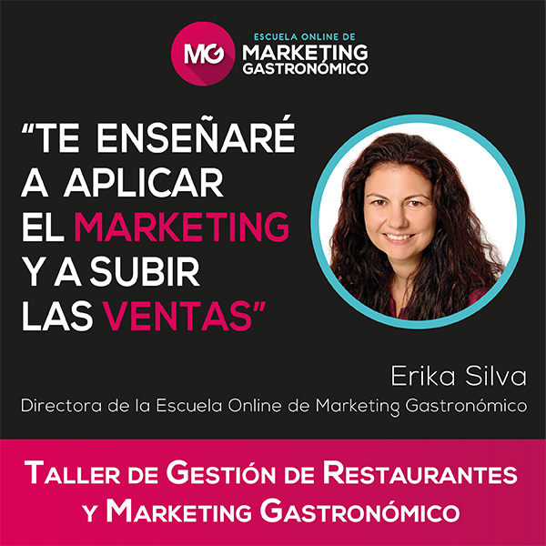 Taller Presencial Gestión de Restaurantes y Marketing Gastronómico Madrid – Barcelona