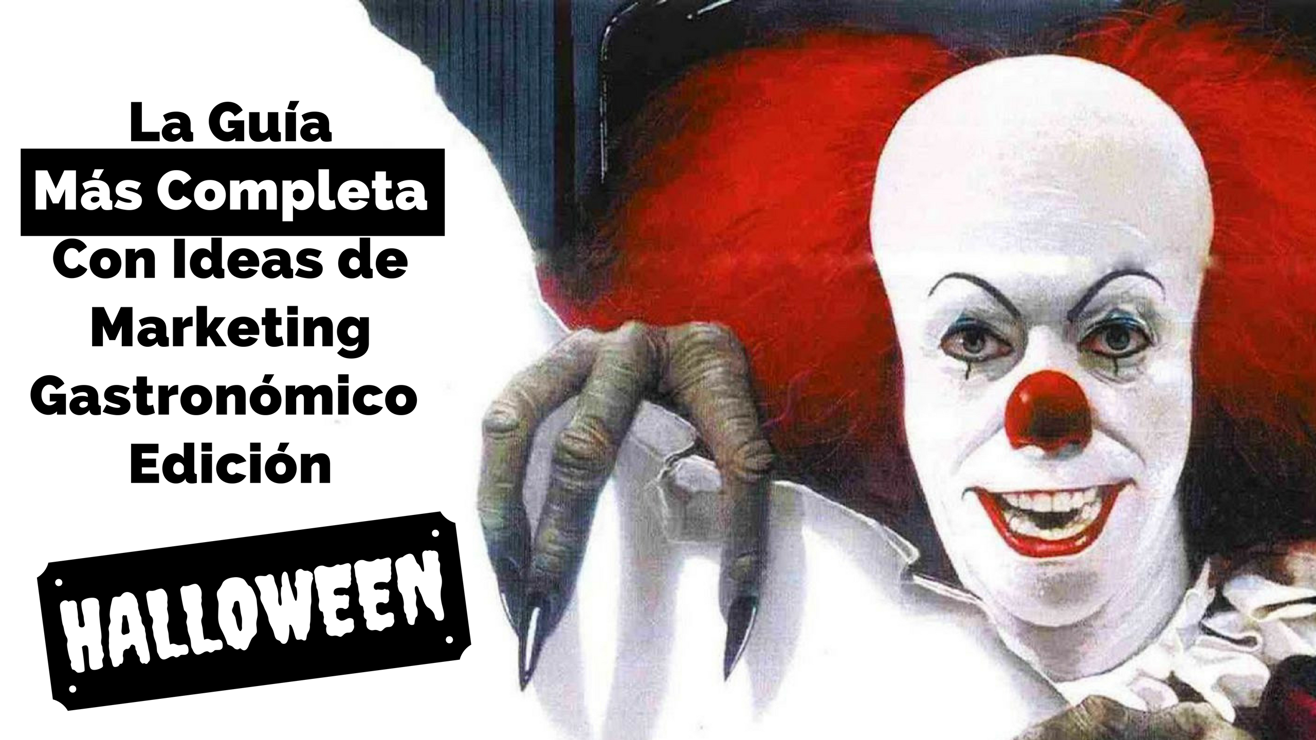 ideas de marketing gastronomico halloween