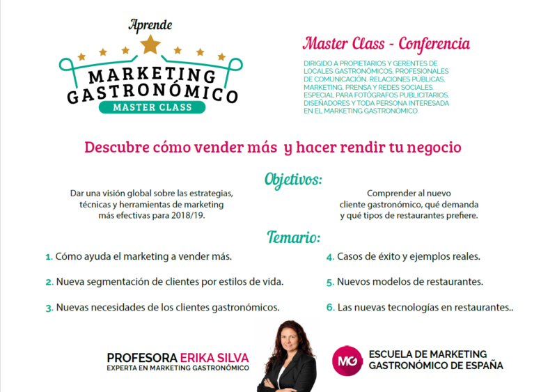 marketing gastronomico erika silva